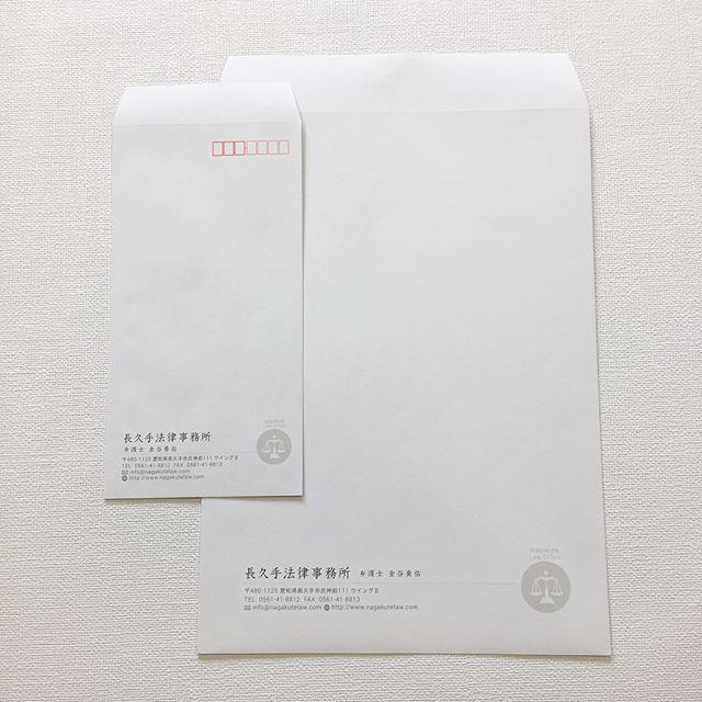 弁護士さんの名刺と封筒
